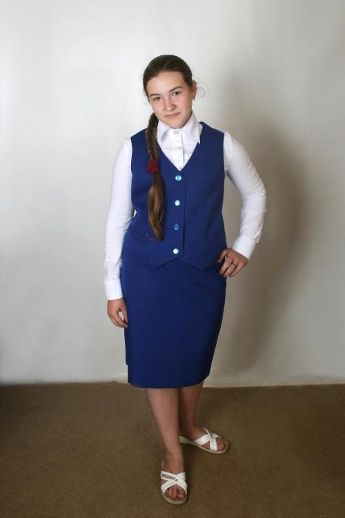 Форма для  православной  гимназии  для  девочек